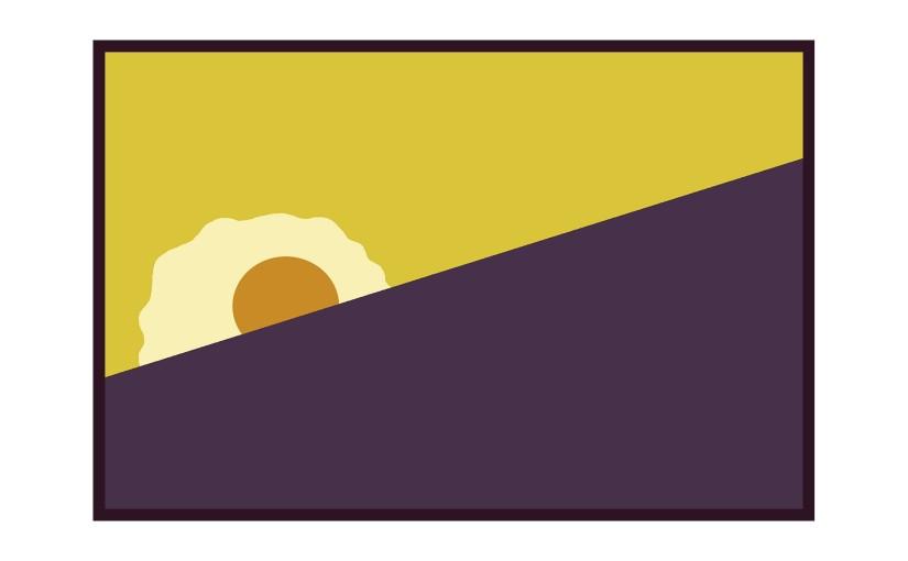 Illustration: Sysiphus sun as fried egg
