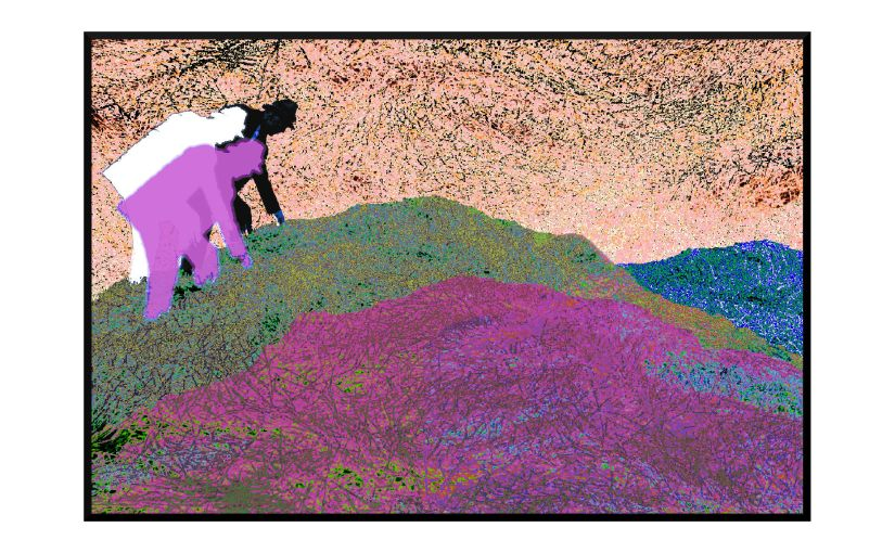 Illustration: searching through wave swells of haystacks